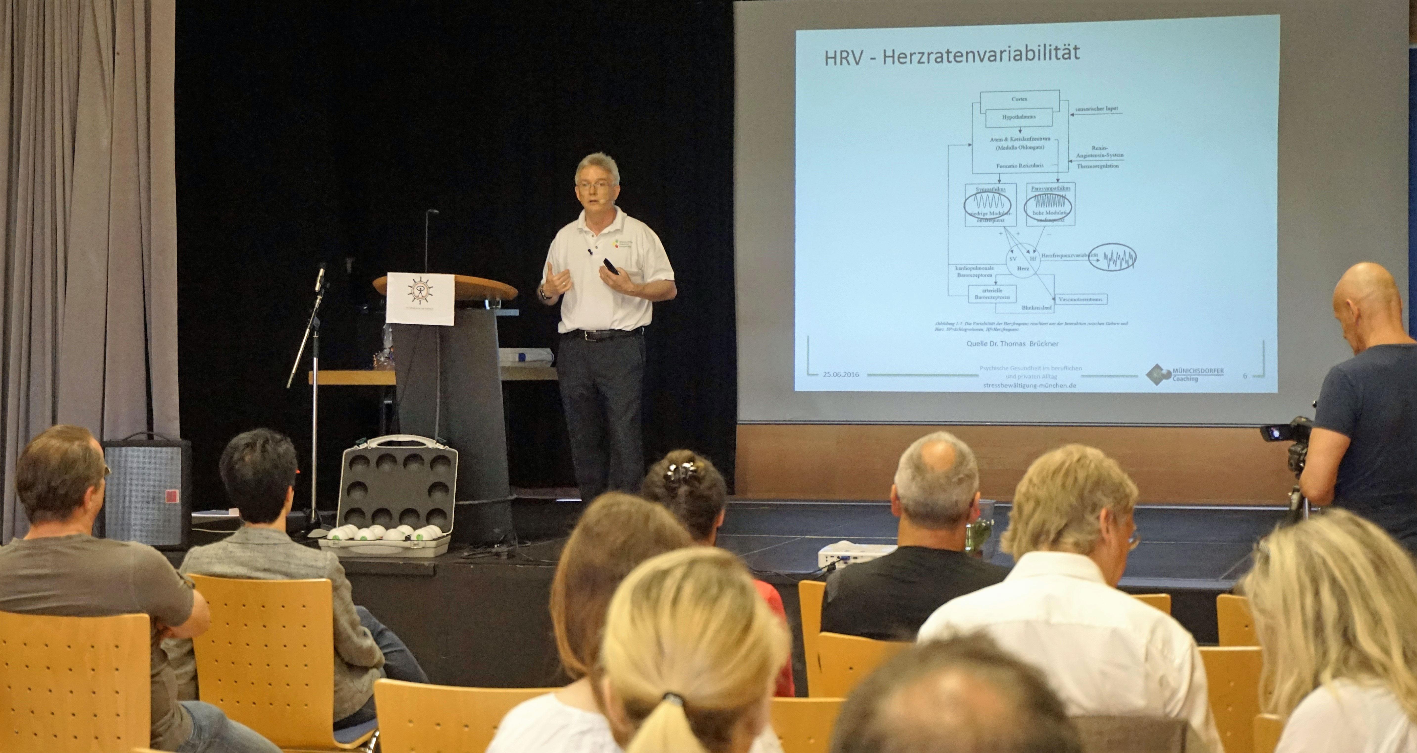Vortrag HRV-Biofeedback in der Burnout-Therapie